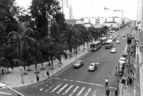 Praça Carlos Gomes ano de 1970