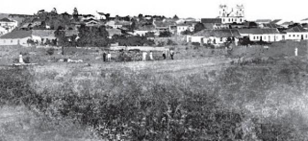 Praça Carlos Gomes ano de 1870