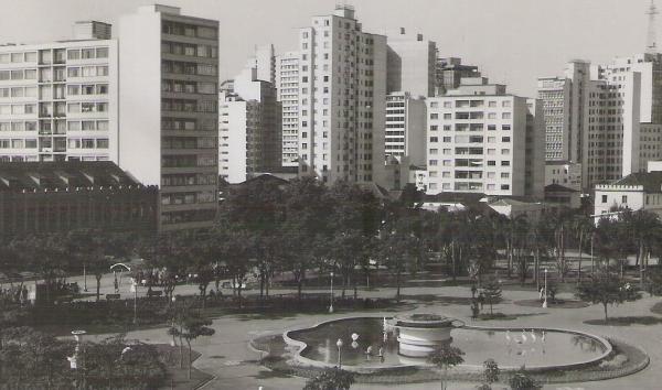Praça Rui Barbosa nos anos 50