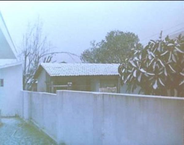 A Neve Tomou conta de muitas casas em Curitiba