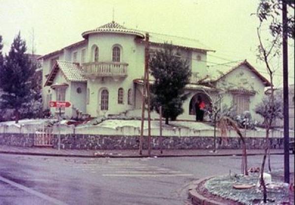 Casa nas Mêrces mostra neve de Curitiba em 1975