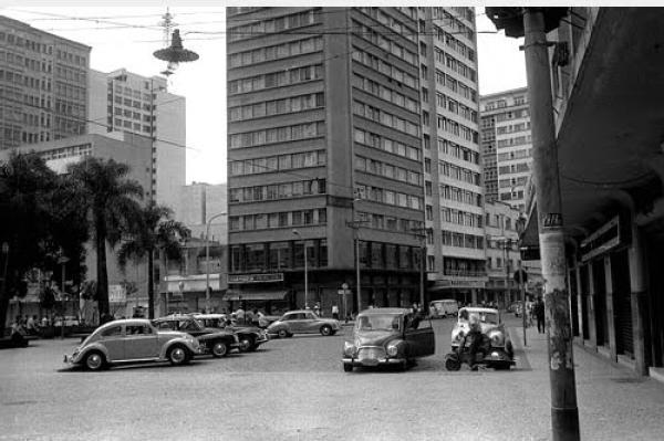Praça Zacarias nos anos 60