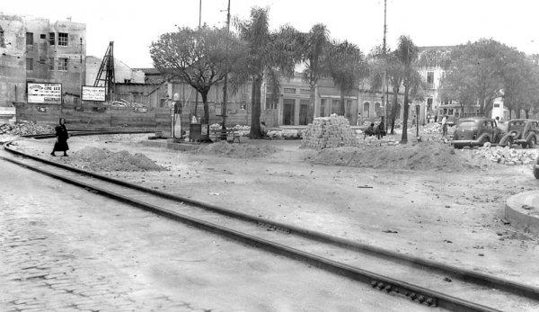 Reforma da Praça em 1939