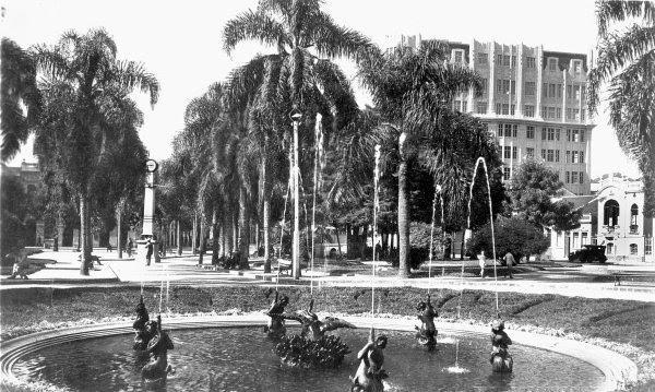 Praça General Osório em 1934