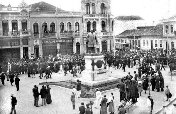 Praça Generoso Marques em 1915