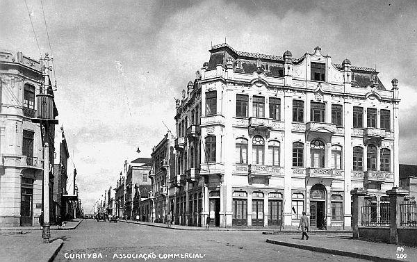 Associação Comercial do Paraná, em  1928.