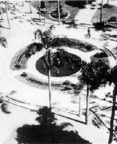 Praça Osório em 1956