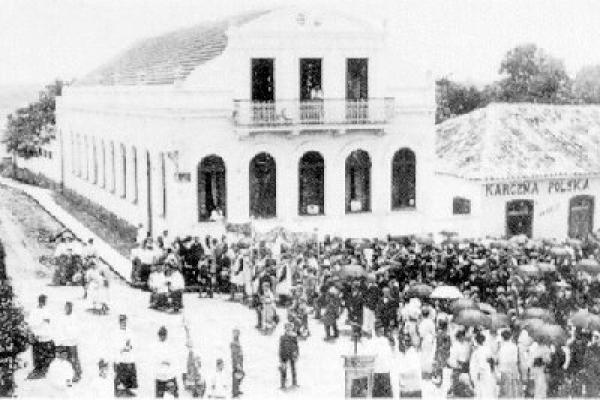 Largo da Ordem em 1910