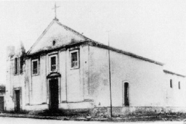 Igreja do Rosário em 1900