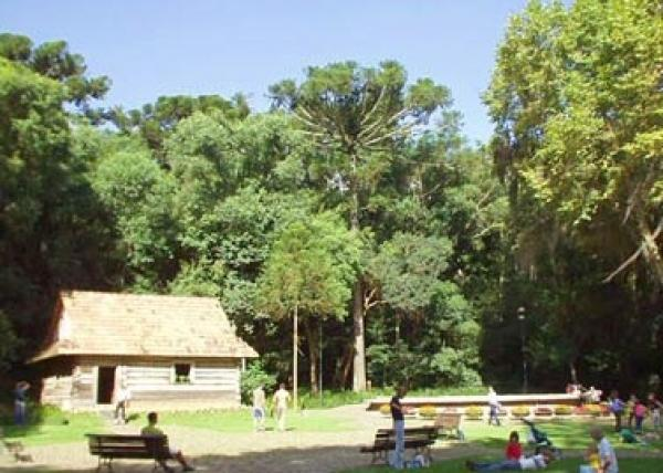 Bosque do Papa Memorial Polonês criado em homenagem a visita do Papa