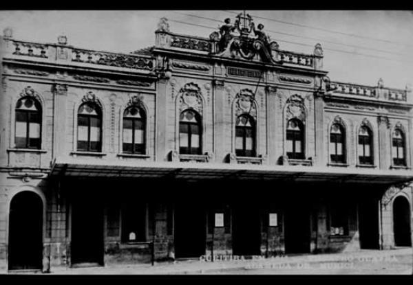 Antigo Theatro Guayra depois da reforma de 1915 na Rua Dr Muricy