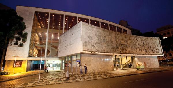 Centro Cultural Teatro Guaíra em  Curitiba palco de grandes  espetáculos