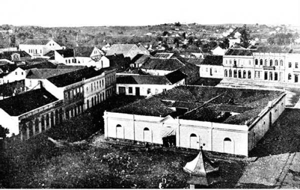 O Antigo Mercado Municipal de Curitiba