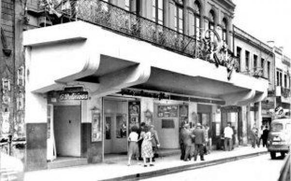Cine Ritz em 1949 hoje Galeria Ritz