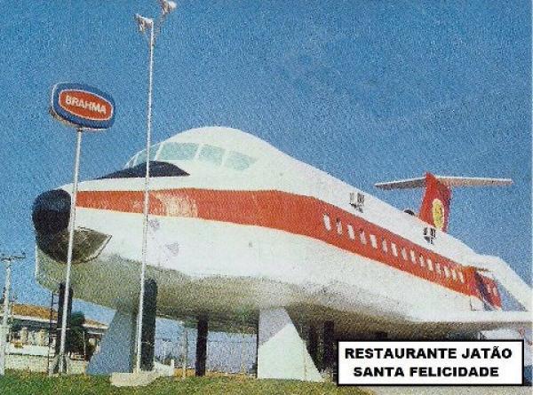 Restaurante Jatão foi inaugurado no comecinho dos anos 80 em Santa Felicidade
