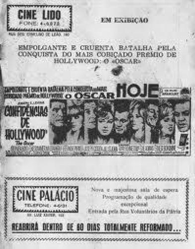 Anuncio de Jornal dos Cines Lido e Palácio na década de 40