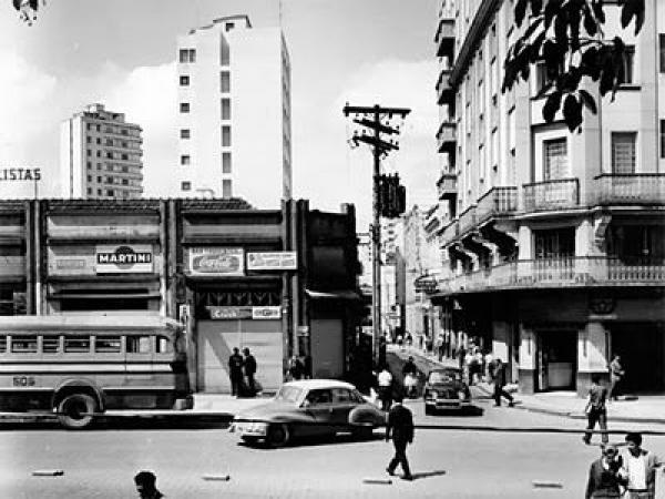 Travessa Tobias de Macedo nos anos  60 o Hotel Cacique ainda existe