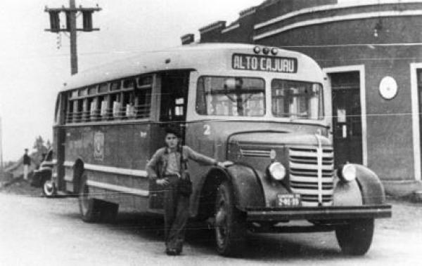 Transporte Coletivo é regulamentado Alto Cajuru em 1955