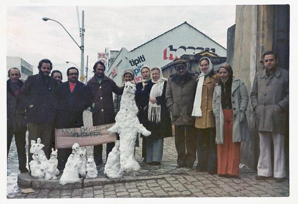 Dia em que nevou em nossa Cidade em 1975
