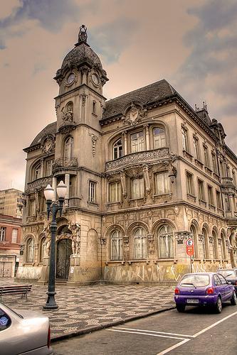 Prefeitura de Curitiba depois Museu Paranaense