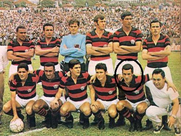 O Atlético Paranaense de 1970 no Roberto Gomes Pedrosa