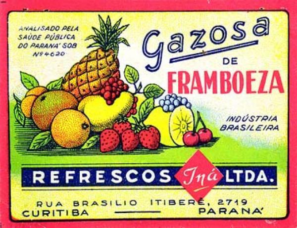 O refrigerante CINI de antigamente  era a INÁ na Brasilio Itiberê