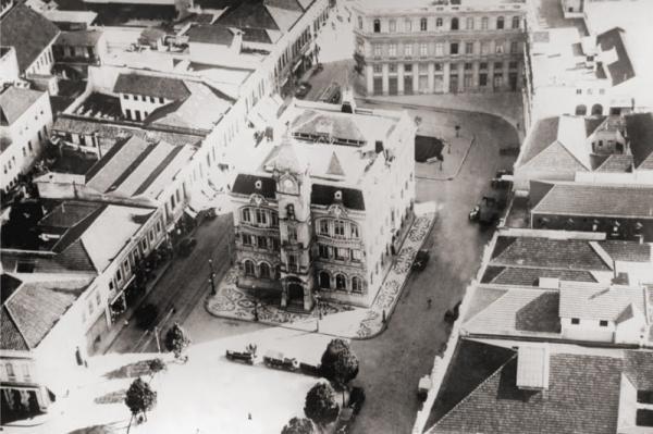 Praça Generoso Marques vista de cima