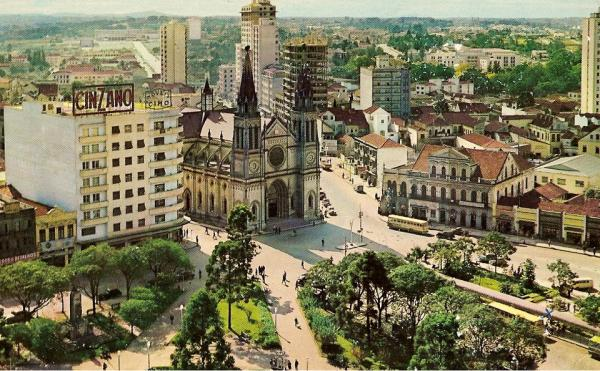 Praça Tiradentes vista por outro ângulo