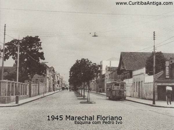 Marechal Floriano Peixoto em 1945  esquina com a Pedro Ivo Parte1