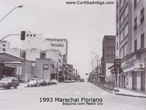 Marechal Floriano Peixoto em 1993  esquina com a Pedro Ivo Parte 2