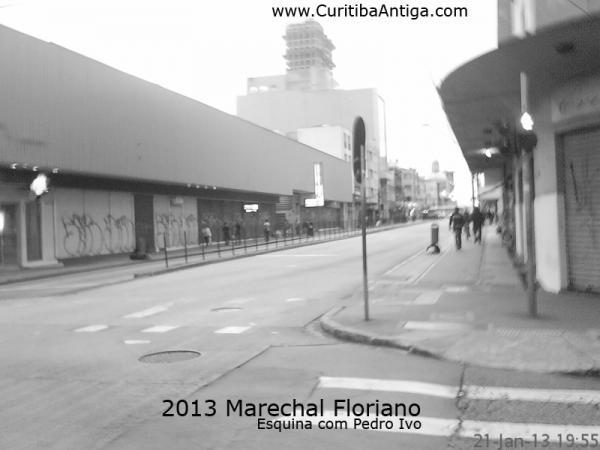Marechal Floriano Peixoto em 2013  esquina com a Pedro Ivo Parte3