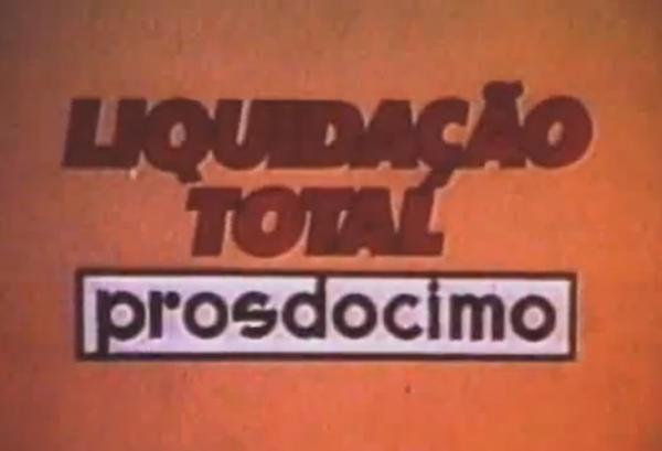 Liquidação total Prosdocimo