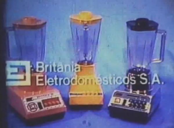 Britânia Eletrodomésticos SA Propaganda antiga