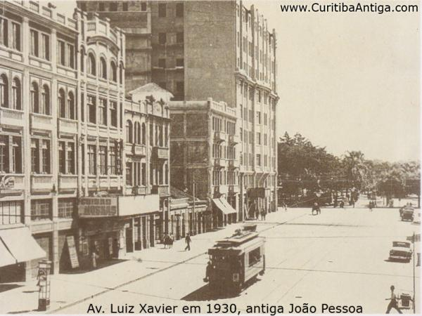 Avenida Luiz Xavier em 1930 parte 1