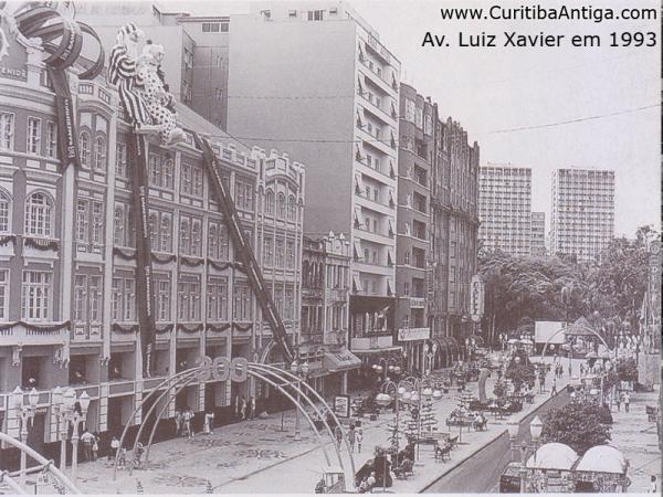 Avenida Luiz Xavier em 1993 parte 2