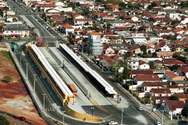 Terminal Vila Oficinas do bairro  do Cajuru