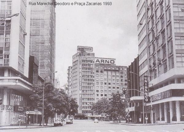 Marechal Deodoro e Praça Zacarias em 1993