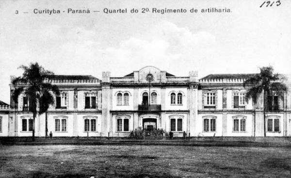 Antiga sede do Comando da 5ª  Região Militar do Exército  Brasileiro