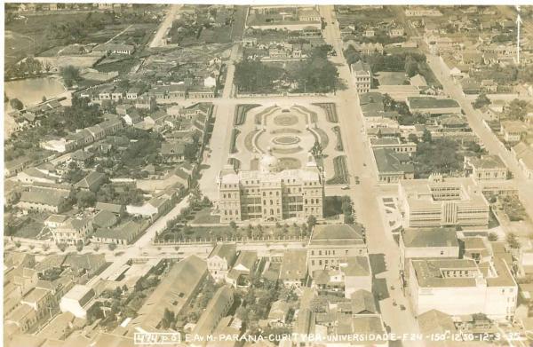 Foto antiga de 1935 Curitiba