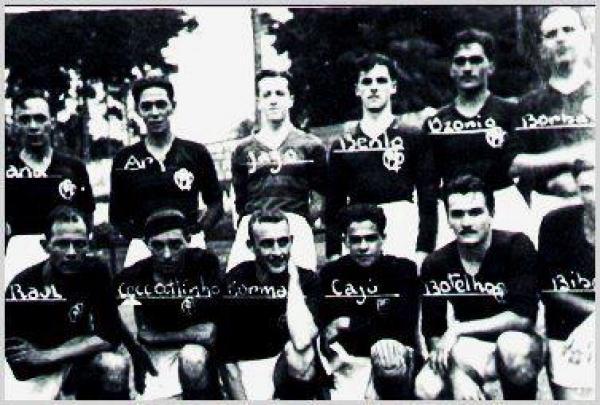 Fotos do Time do Atlético Paranaense em 1934