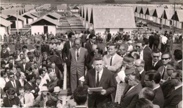 Vila Nossa Senhora da Luz dos Pinhais em 1967