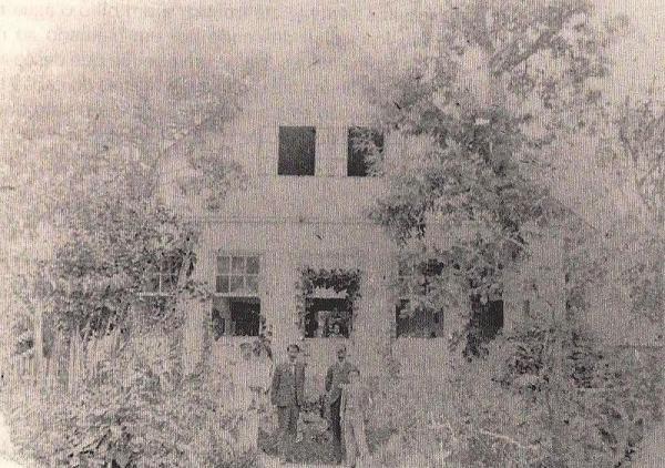 Foto da antiga Fazenda Boqueirão  em 1900