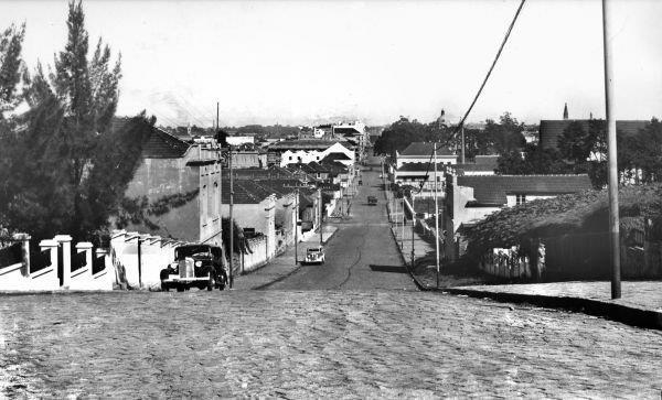 Rua XV de Novembro Vista da Rua Ubaldino do Amaral em 1940