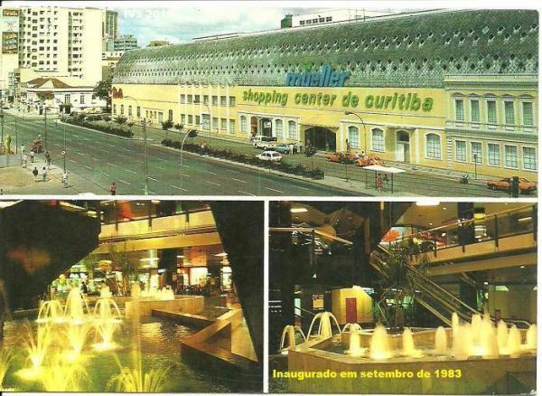 Inauguração do Shopping Mueller em  1983
