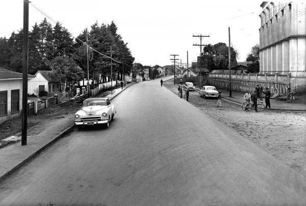 Avenida República Argentina em 1952