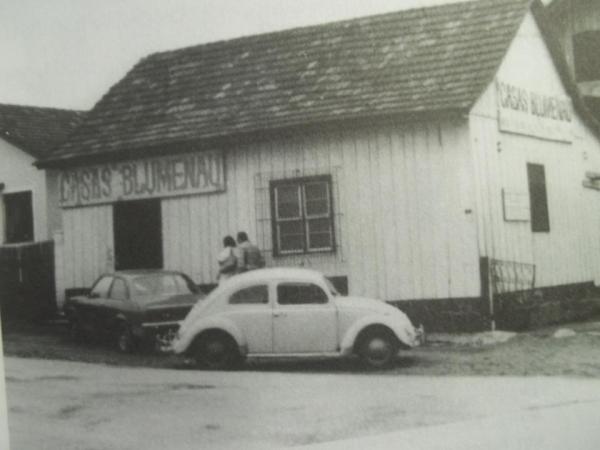Casas Blumenau no bairro Boqueirão anos 70