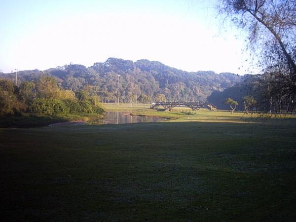 Parque Barigui inverno de 2003