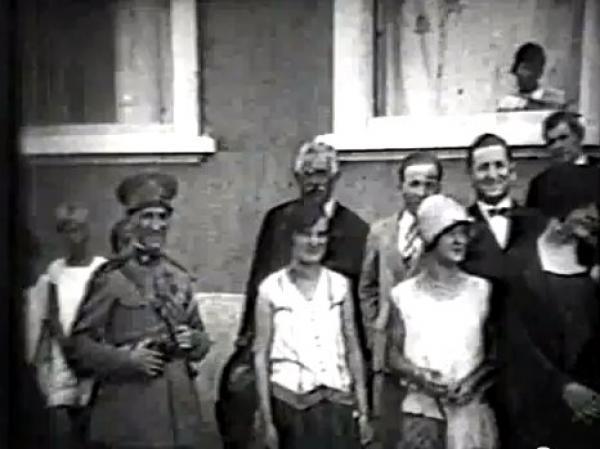 CAMPO LARGO EM 1928 - Visita de  Affonso Camargo e comitiva