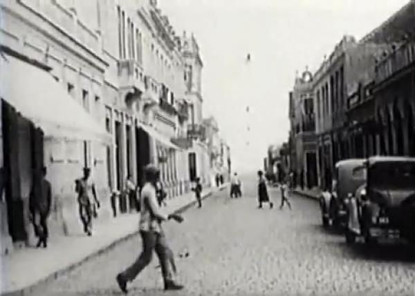 Ponta Grossa em 1936 filme Cidades  do Paraná