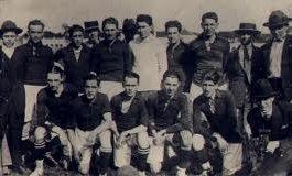 O Primeiro Atletiba oficial da história em 1924 foto do Atlético